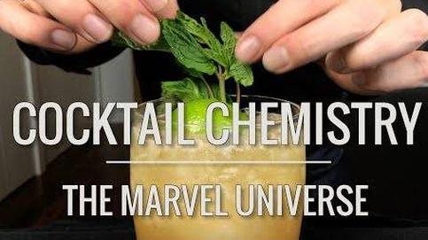 Así se hacen realidad los cócteles de Marvel