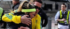 Foto: El cowboy, el jugador de fútbol y otros héroes anónimos del atentado en Boston