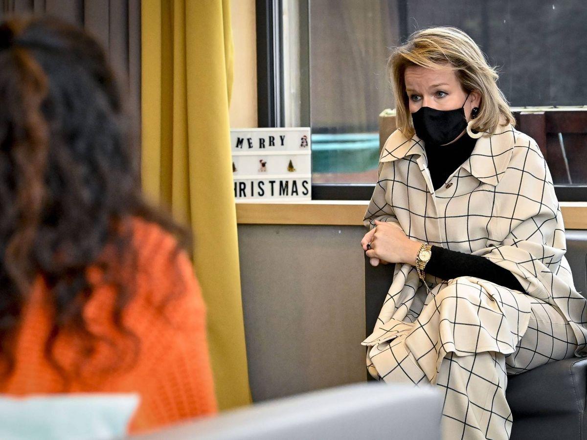 Foto: La reina Matilde de Bélgica. (Cordon Press)