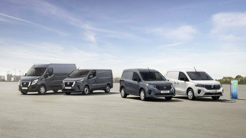 Nissan renueva su gama de Vehículos Comerciales Ligeros (LCV) con la Interstar, Primastar y nueva Townstar.
