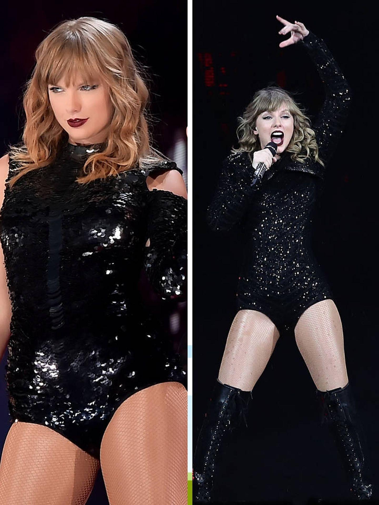 Taylor, camaleónica. (Getty)