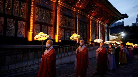 Desfile de linternas budistas en Seúl