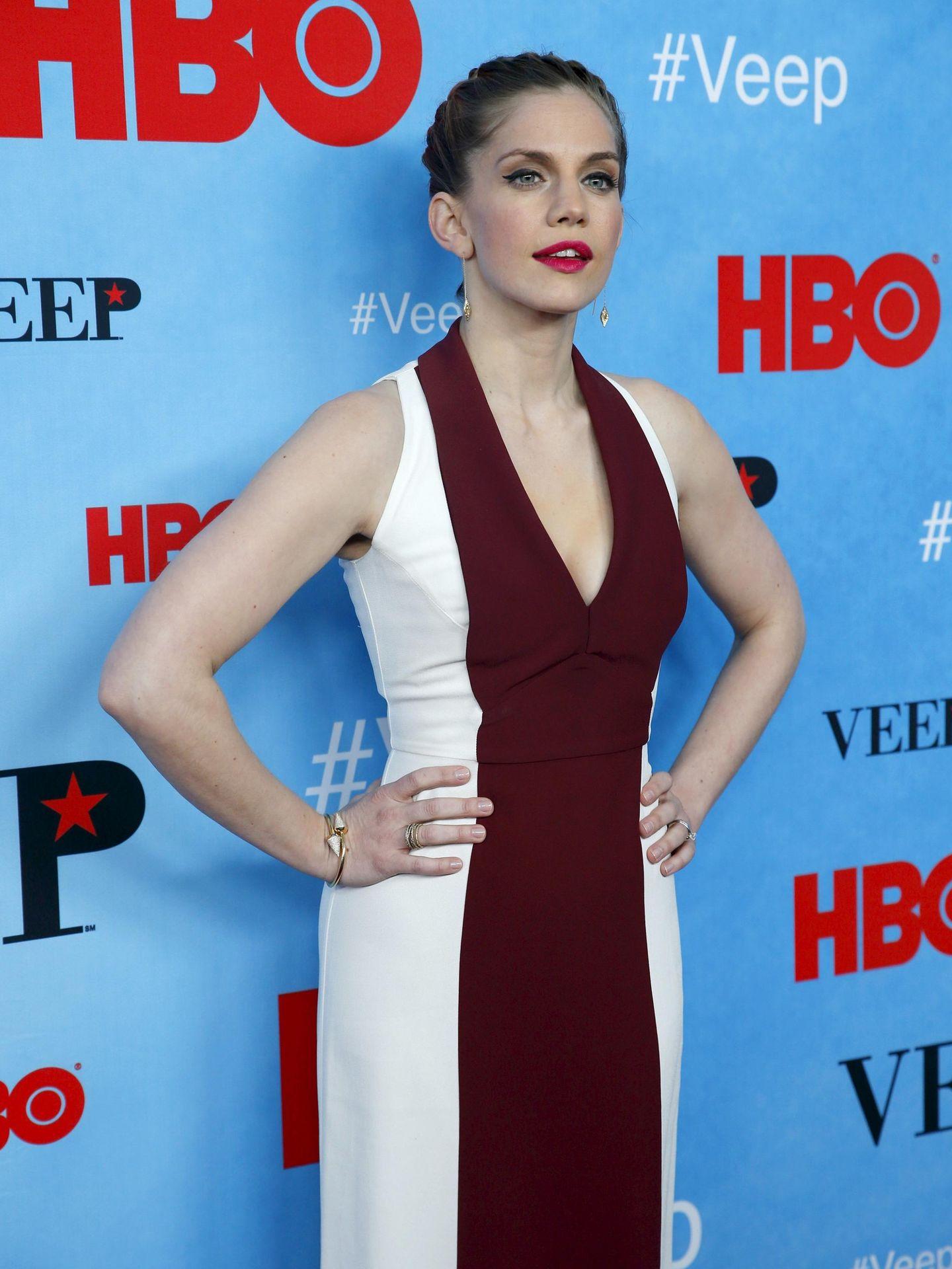 La actriz, en el estreno de la cuarta temporada de 'Veep'. (Reuters)