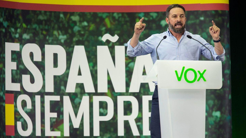 El presidente de Vox, Santiago Abascal. (EFE)