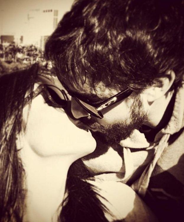 Foto: Lara Álvarez y Fernando Alonso en Instagram