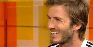 """Beckham: """"I love Florentino"""""""