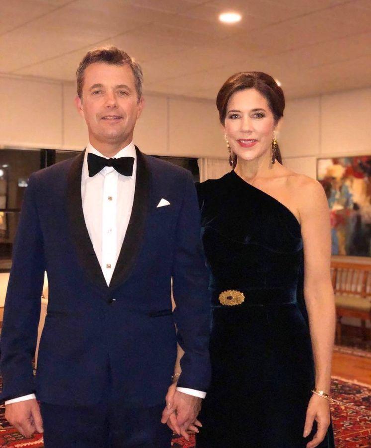 Foto:  Federico y Mary de Dinamarca. (IG)