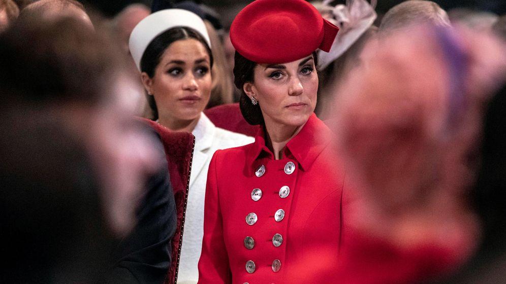 Foto: Meghan y Kate. (Reuters)