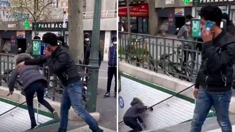 Expulsan a un español de Francia por empujar a una mujer escaleras abajo