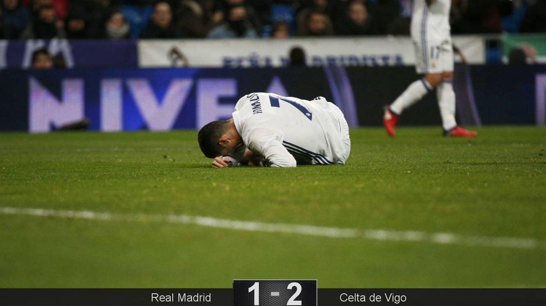 Foto: Cristiano completó un partido para olvidar. (Juan Medina/Reuters)