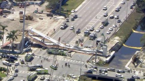 Miami confirma seis muertos tras el derrumbe de un puente sin inaugurar