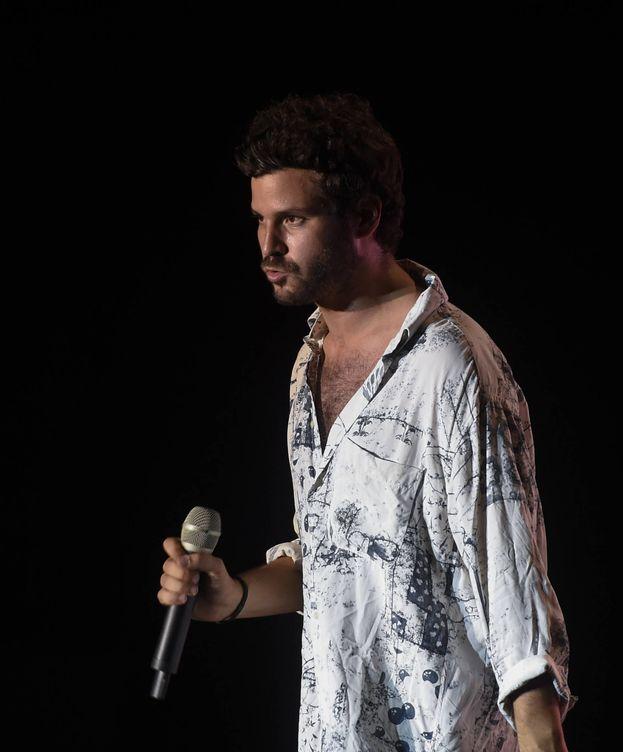 Foto: Willy Bárcenas durante un concierto de Taburete. (Gtres)