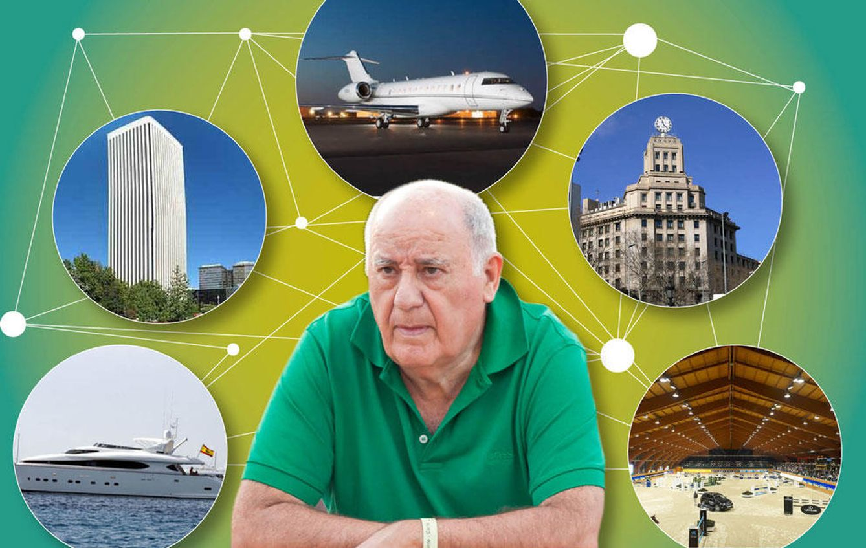 Foto: Algunas de las propiedades de Amancio Ortega (Vanitatis)