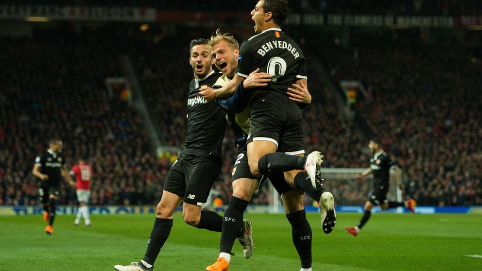 El Sevilla se clasifica para cuartos de la Champions ante 4,8 millones