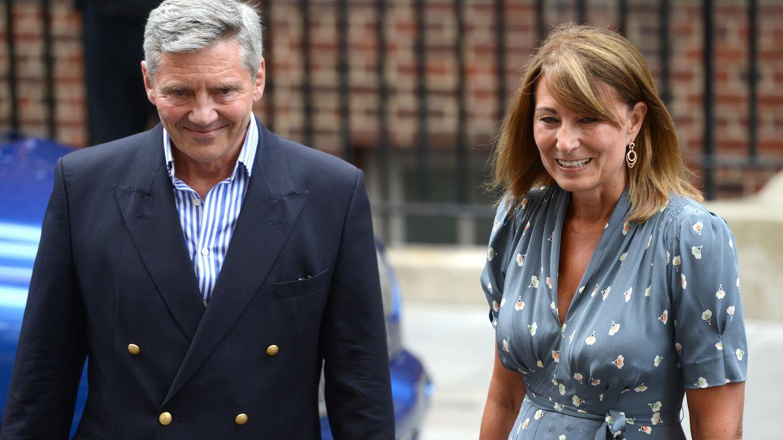Foto: Michael y Carole Middleton, en una imagen de archivo (Gtres)