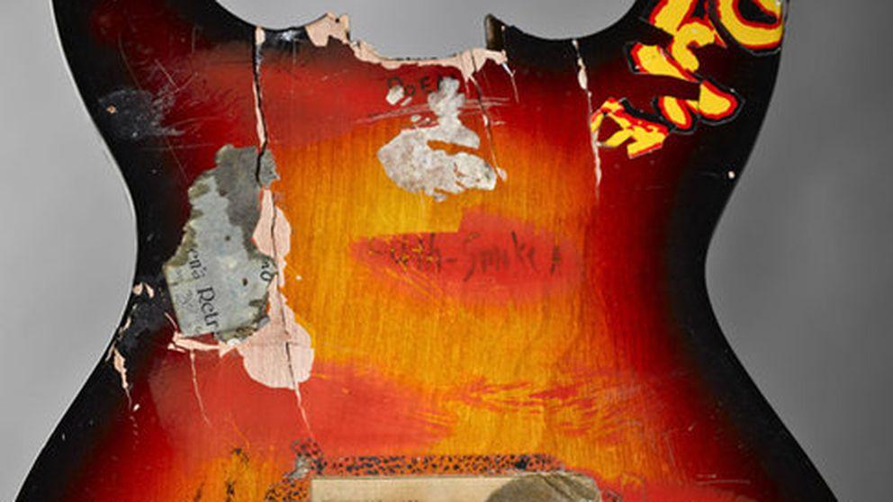 Una exposición recoge los objetos más famosos de Nirvana