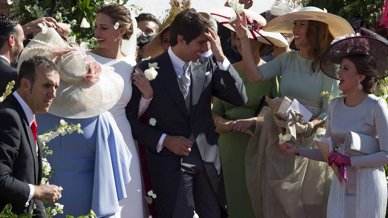 La boda de Eva González y Cayetano Rivera. (Getty)
