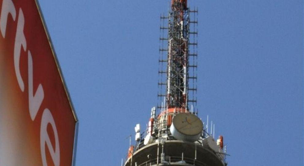 Control de informativos de RTVE. (Efe)