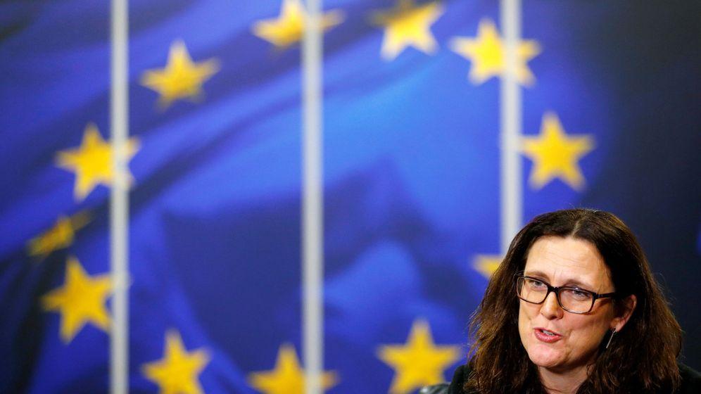 Foto: Cecilia Malmstrom, comisaria europea de Comercio. (Reuters)