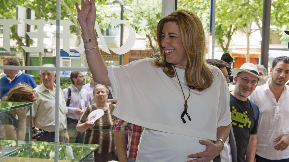Foto: Susana Díaz, presidenta en funciones de la Junta de Andalucía. (EFE)