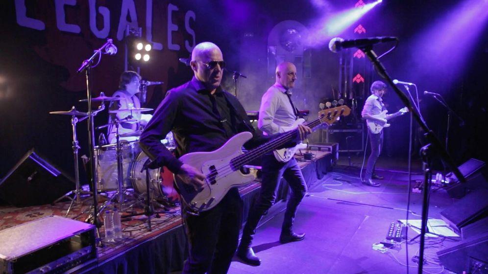 Foto: Los Ilegales en el concierto del pasado 23 de abril en el Teatro Barceló de Madrid
