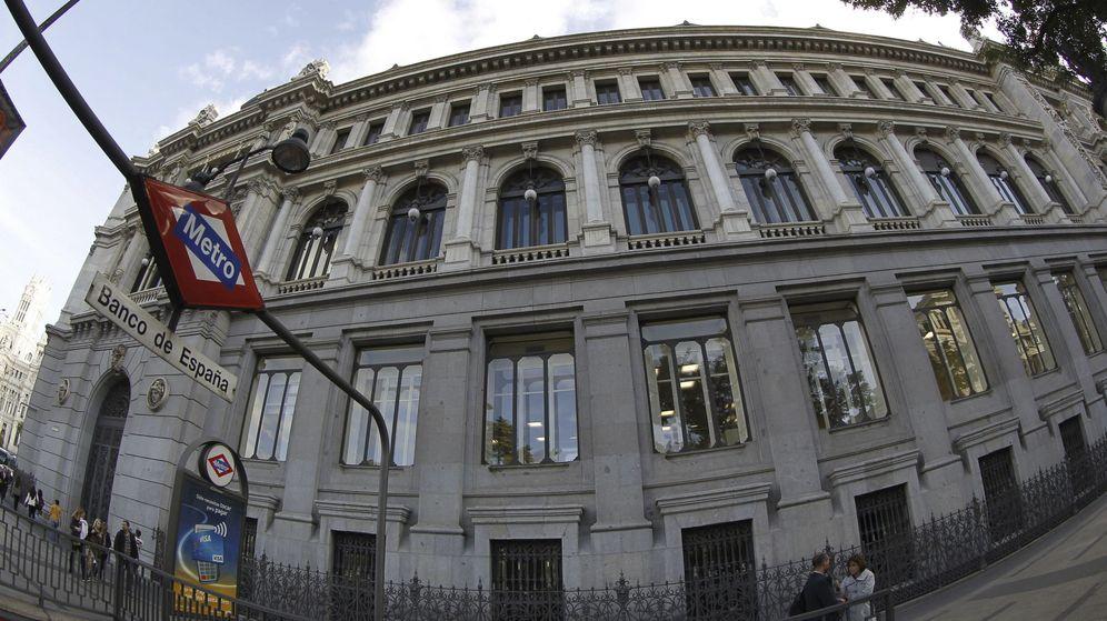Foto: Sede del Banco de España, en la Plaza de Cibeles en Madrid. (EFE)