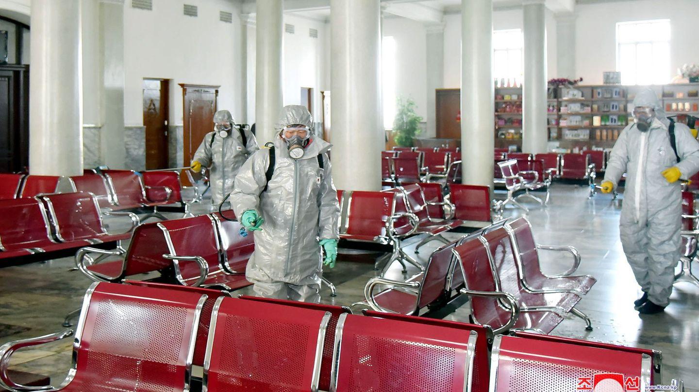 Pyongyang no ha comunicado aún ningún positivo por el coronavirus