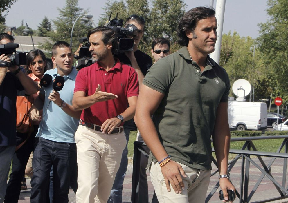 Foto: Álvaro (dcha) y Javier Ruiz-Mateos, hijos del empresario José María Ruiz-Mateos (EFE)
