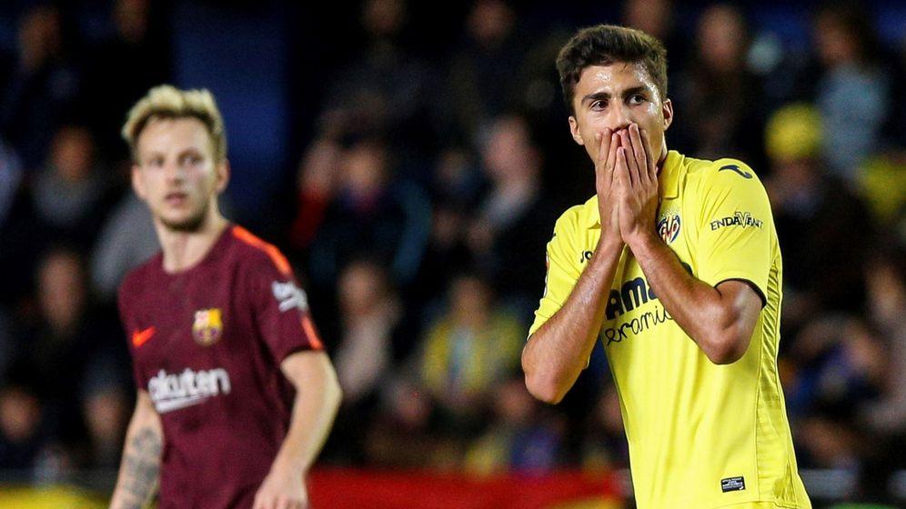 Foto: Rodri, en un partido contra el Barcelona. (EFE)