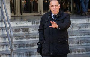 Tebas celebra el movimiento de la Fiscalía: Hay que acabar con esta lacra minoritaria