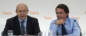 Wert triunfa en FAES y Aznar le anima a sacar su reforma pese a los 'barones' del PP
