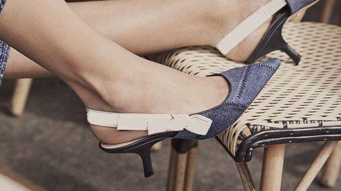 Zara, Mango y Uterqüe se suman a la moda de los zapatos 'kitten heels'