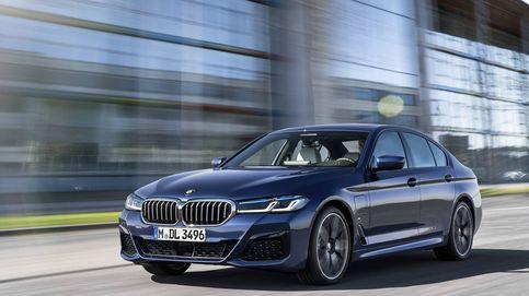 Los retoques del nuevo BMW Serie 5, la berlina más deportiva y electrificada