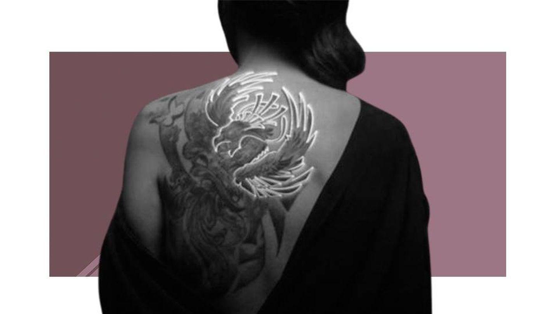 El imponente tatuaje de Rocío Carrasco. (Vanitatis)