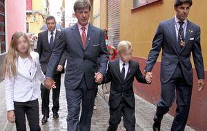 """Francisco Rivera: """"Mi hija me lleva derecho"""""""
