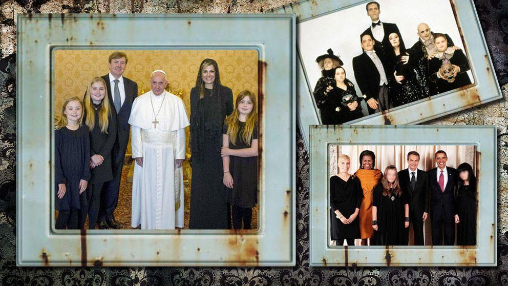 Máxima de Holanda y sus hijas se marcan un 'Zapatero' en el Vaticano