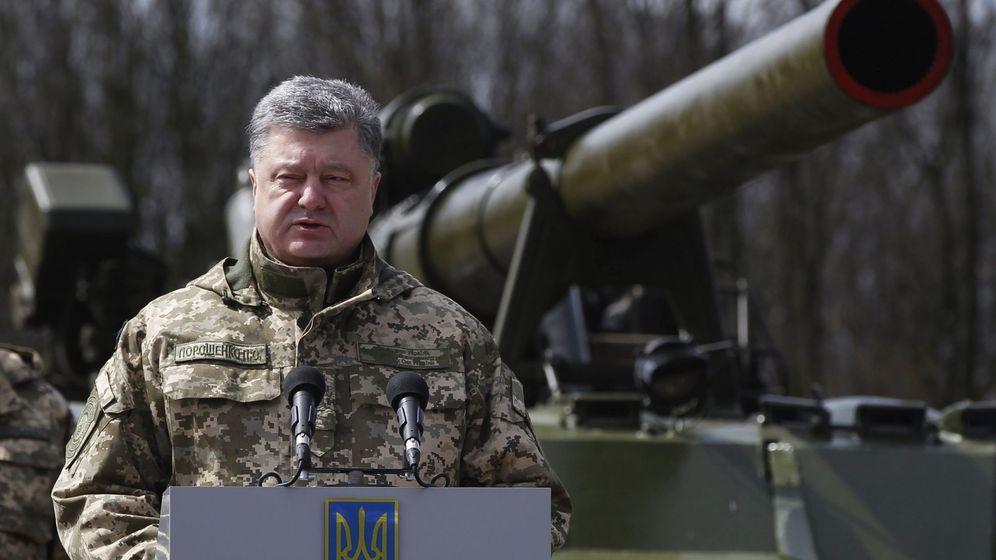 Foto: Petro Poroshenko, presidente de Ucrania (Efe).