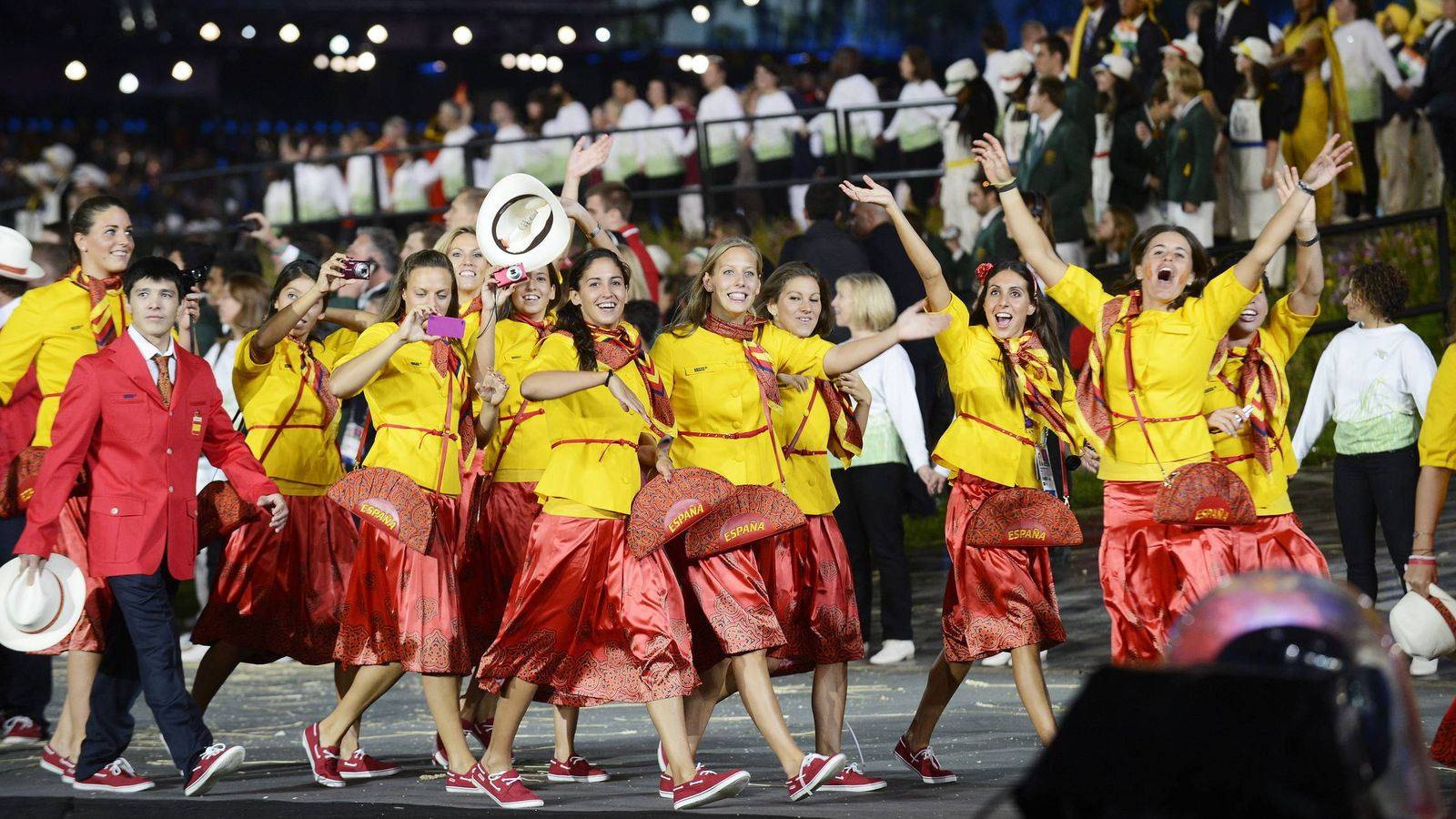 Foto: Ceremonia de inauguración de los Juegos Olímpicos de Londres 2012.