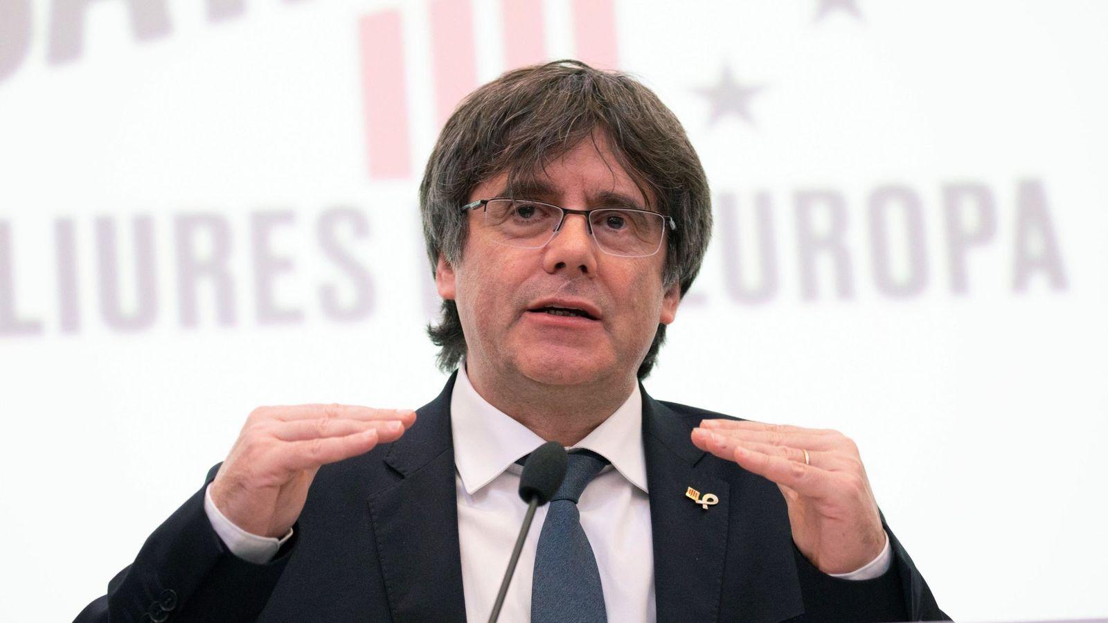 Foto: El 'expresident' catalán Carles Puigdemont. (EFE)