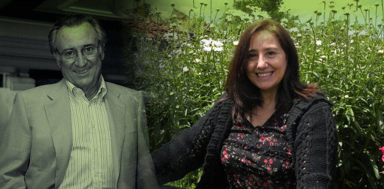 Foto: María Eva García y Manolo Escobar en un fotomontaje de Vanitatis