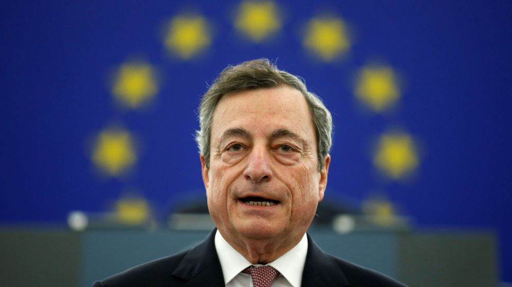 Foto: El presidente del Banco Central Europeo (ECB), Mario Draghi. (Reuters)
