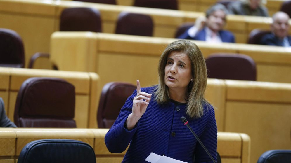 Foto: La ministra de Empleo, Fátima Báñez