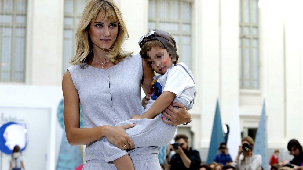Alba Carrillo presume de su hijo Lucas en la presentación de su nueva colección de ropa infantil