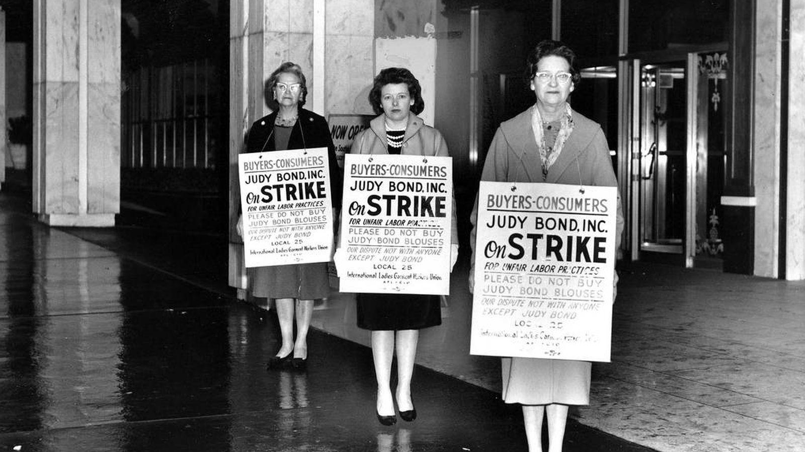 Foto: Huelga de consumo en Georgia (Estados Unidos) en 1962   Centro Kheel