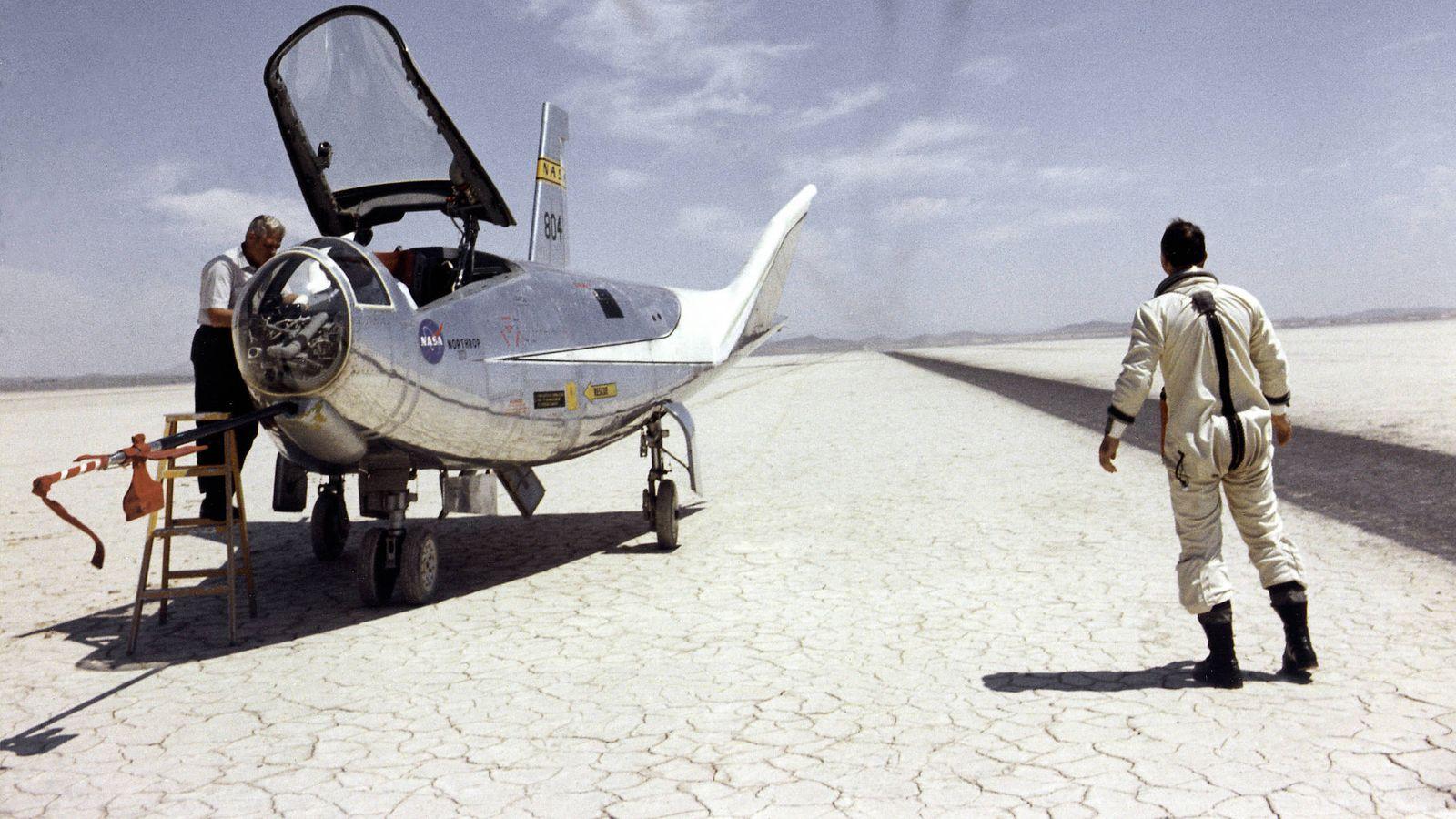 Foto: Northrop HL-10. (Wikipedia)