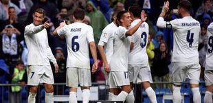 Post de El Madrid sobrevive a su apatía y gana al Sporting con un doblete de Cristiano