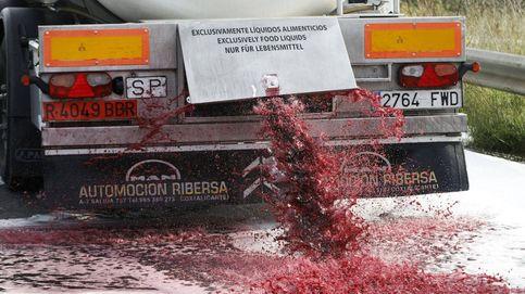 Los franceses nos atacan los camiones porque no pueden competir con el vino