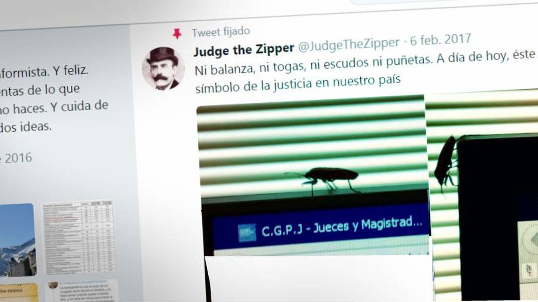 @ladycrocs, @Lapelo, @judgethezipper... Juez y tuitero, las togas campan por la red