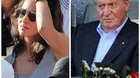 El rey Juan Carlos y Xisca Perelló, los mejores apoyos de Rafa Nadal en Roland Garros