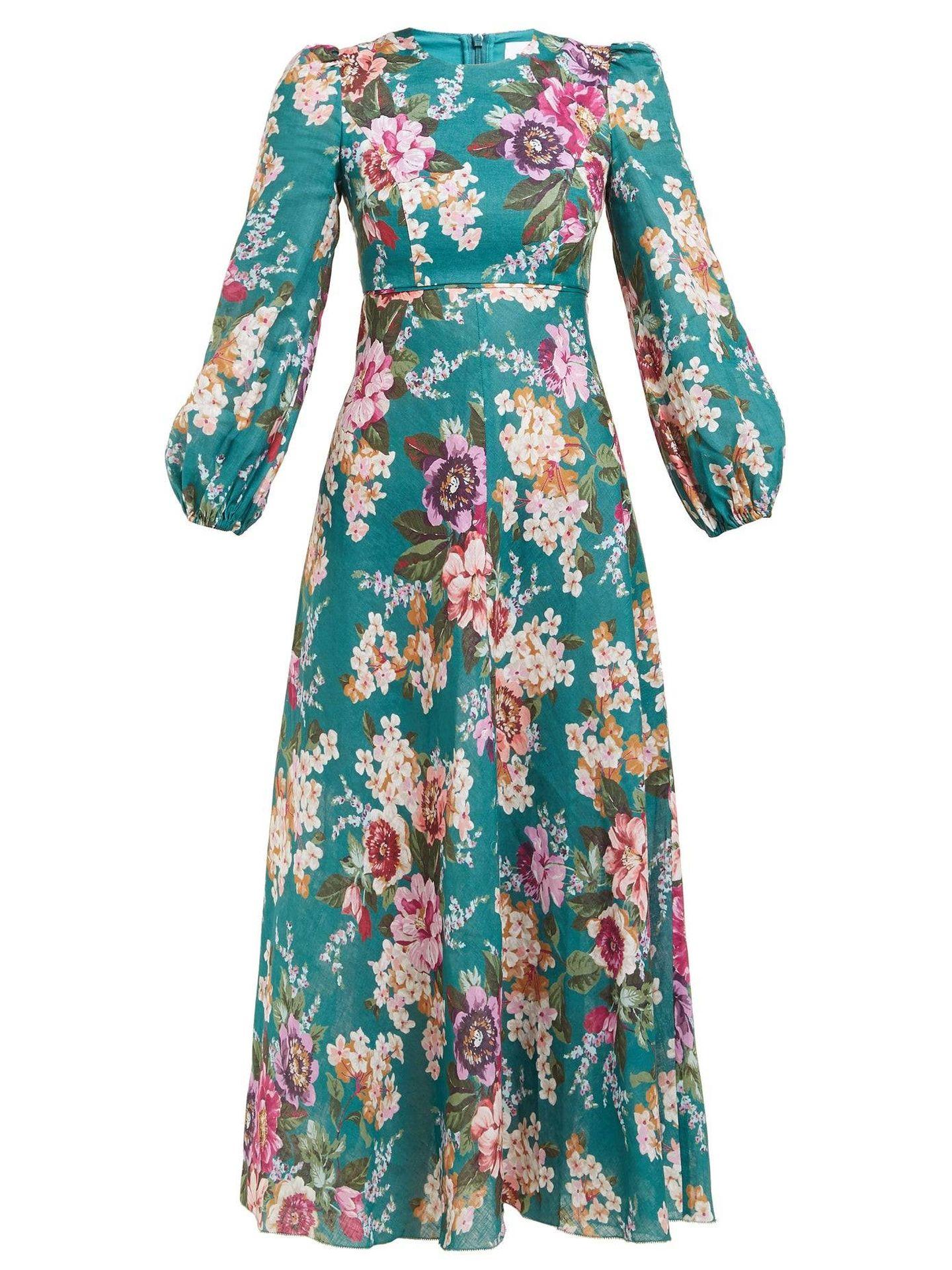 El vestido de Zimmermann.